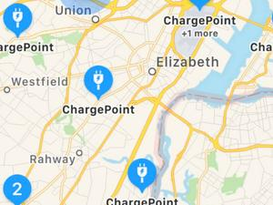 Apple Maps now shows EV charging stations