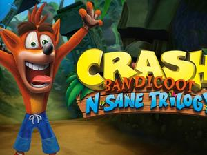 Crash Bandicoot N. Sane Trilogy remastered trailer- Classics never looked better