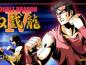 Double Dragon IV kicking it old-school on PC, PlayStation 4 next January