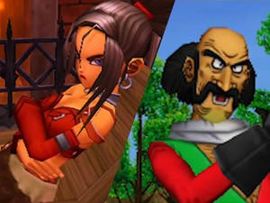 Meet Dragon Quest VIII's original characters from the 3DS version