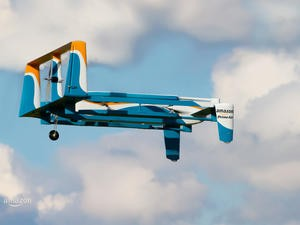 Amazon Prime Air drone made its first delivery! Check out the incredible videos