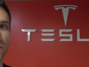 Dude shows you how to turn your garage into a Tesla Gallery