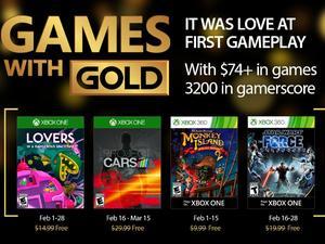 Xbox's free Games with Gold for Feb 2017 announced