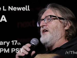 Gabe Newell doing a Reddit AMA, get your Half-Life 3 questions ready