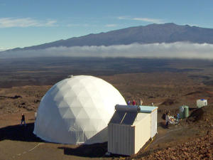 Mars Mission sim starts - 6 people to live in dome on volcano for 8 months