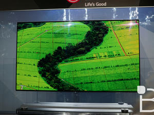 """LG unveils """"lightest, thinnest, most beautiful TV on the planet"""""""