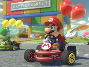 Mario Kart 8 Deluxe releases for Nintendo Switch shortly after launch