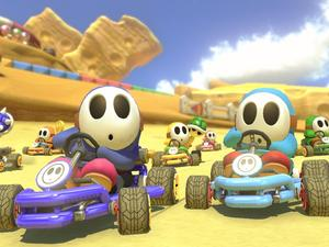 Mario Kart 8 Deluxe and the Switch pull out in front in Japan again