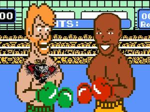 McGregor and Mayweather throw down -- in NES classic Punch-Out!