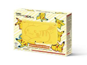 Pikachu finally gets his own New Nintendo 3DS XL model