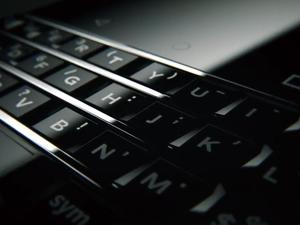 BlackBerry Press smartphone teased ahead of CES