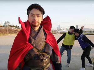 Stop what you're doing and watch SNL Korea's Doctor Strange digital short