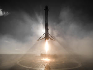 SpaceX captured a breathtaking image from last weekend's landing