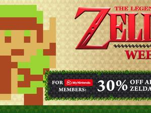 The Legend of Zelda series getting a 30 percent discount for two weeks in Europe