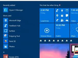 Windows 10 preview 15002 has tile folders, blue light options, tons of other improvements