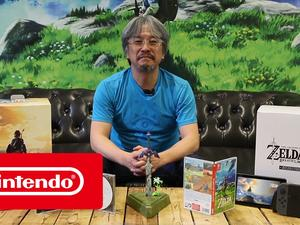 The Legend of Zelda unboxing video, this time directly from Nintendo itself