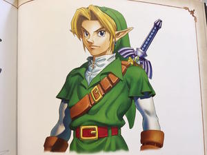 Nintendo artists say Link is based on a Hollywood actor, but won't say who
