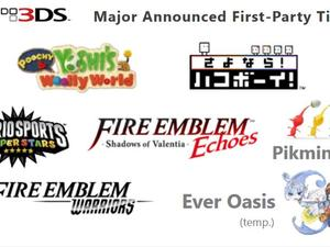 """Nintendo promises to develop Nintendo 3DS games, has """"many other unannounced titles"""""""