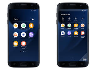 """Galaxy Note 7 """"Secure Folder"""" feature hits Galaxy S7, S7 Edge"""