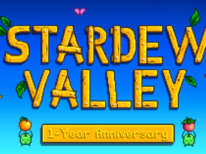 Stardew Valley turns one year old and creator reveals original screenshots