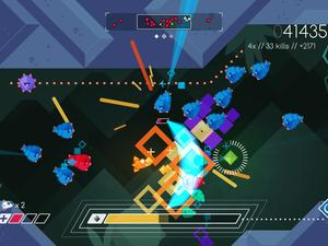 Graceful Explosion Machine is a unique 2D shoot 'em up for the Nintendo Switch