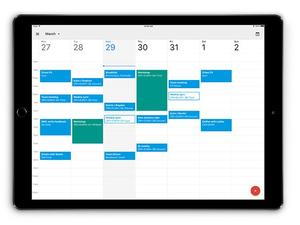 Google Calendar is finally compatible with the iPad