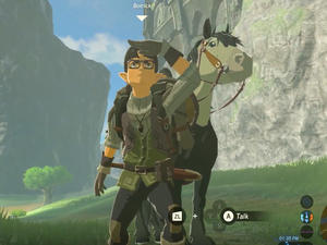Fans believe they have found Satoru Iwata in Zelda: Breath of the Wild