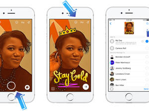 "Facebook's Snapchat Stories clone ""Messenger Day"" launches for all"