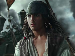 Latest Pirates of the Caribbean 5 trailer shows off much younger Jack Sparrow