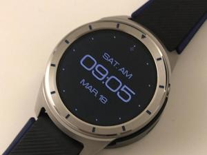 ZTE's first Android Wear smartwatch pictured up-close