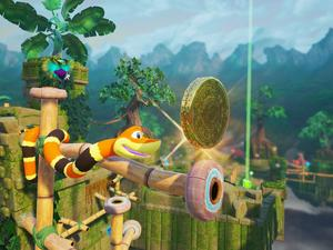 Snake Pass isn't constricted by traditional puzzle platformers