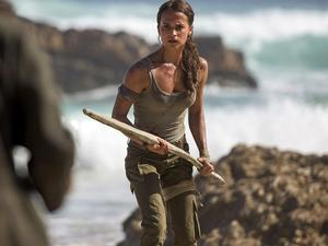 Alicia Vikander suits up as Lara Croft in new images