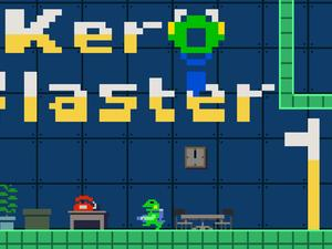 Play as custodian Kermit in Kero Blaster on the PlayStation 4 next week