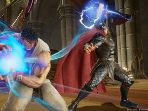 Marvel vs Capcom: Infinite trailer 2 - Artwork feels like a Thor...n in my side