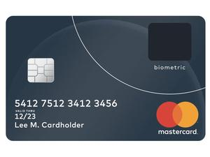 MasterCard unveils new credit card with built-in fingerprint scanner