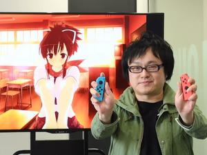 Senran Kagura uses the Switch's HD rumble in the most obvious way
