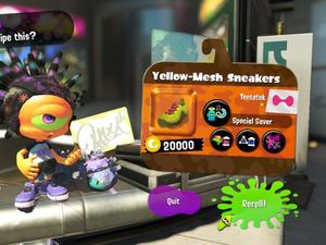 Splatoon 2's new gear system lets you remove and customize abilities