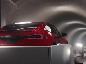 Elon Musk's new video of his tunnel company is super trippy