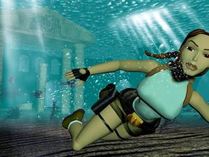 Blocky Lara Croft returns in new Tomb Raider port that can be played in a browser