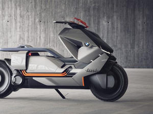 BMW's new concept motorbike looks like something out of the future