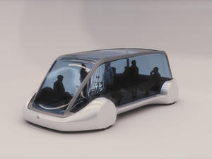 Elon Musk shares images of Boring Company's weird passenger vehicles