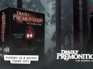 Deadly Premonition: The Board Game Kickstarted almost immediately