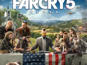 Far Cry 5's first image points toward a deeply political game