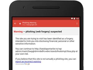 Anti-phishing security is on its way to Gmail for iOS