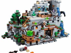 LEGO Minecraft Mountain Cave set will blow your mind