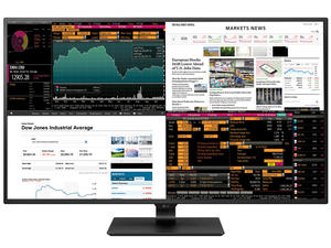 LG's giant 4K monitor can display 4 inputs at once