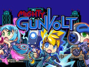 Mighty Gunvolt Burst announced for the Nintendo Switch and 3DS