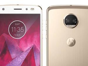 Moto Z2 Force shown off in a new picture with a surprise feature