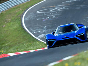 The Nürburgring lap record was shattered by an electric car