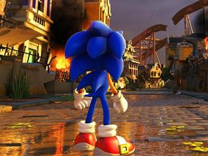 """Sonic Forces' theme """"Fist Bump"""" is sung by Hoobastank lead singer"""